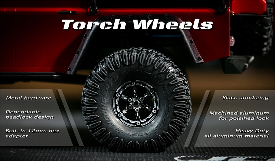 JConcepts Torch 1.9 Wheels & Weights For Traxxas TRX-4 (3)