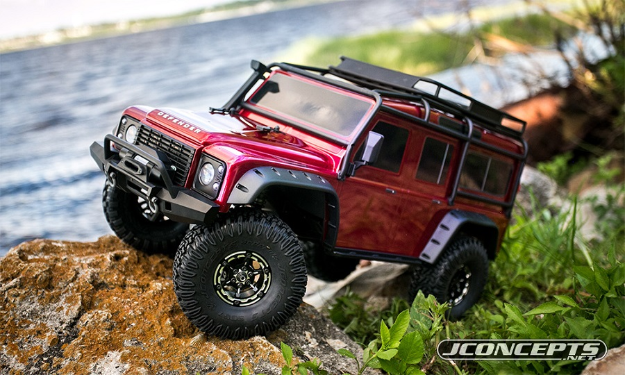 JConcepts Torch 1.9 Wheels & Weights For Traxxas TRX-4 (4)