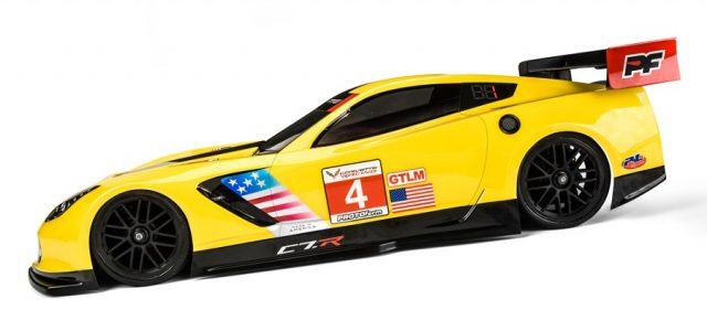 PROTOform Chevrolet Corvette C7.R 190mm Clear Body
