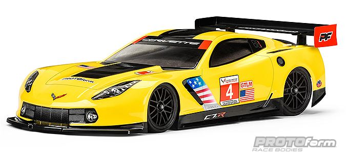PROTOform Chevrolet Corvette C7.R 190mm Clear Body (2)