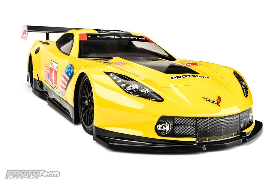 PROTOform Chevrolet Corvette C7.R 190mm Clear Body (3)