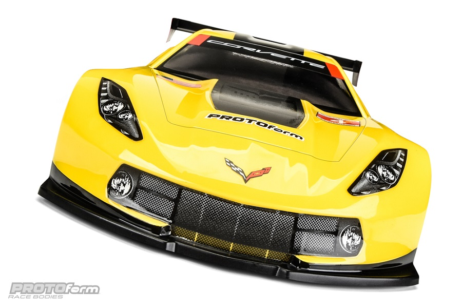 PROTOform Chevrolet Corvette C7.R 190mm Clear Body (5)