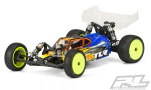 Pro-Line Elite Clear Body For The TLR 22 4.0 (1)