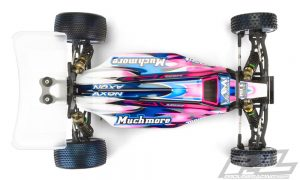 Pro-Line Elite Light Weight Clear Body For The Yokomo YZ-2 (3)