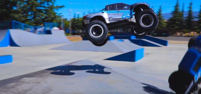 Pro-Line Monster Truck Vert Session [VIDEO]