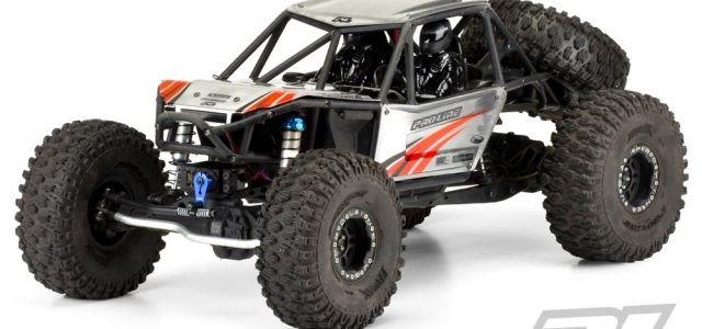 Pro-Panels Clear Body For The Axial Bomber