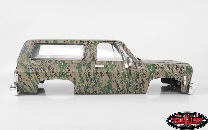 RC4WD Chevrolet Blazer Hard Body Set (Digital Camo) (1)