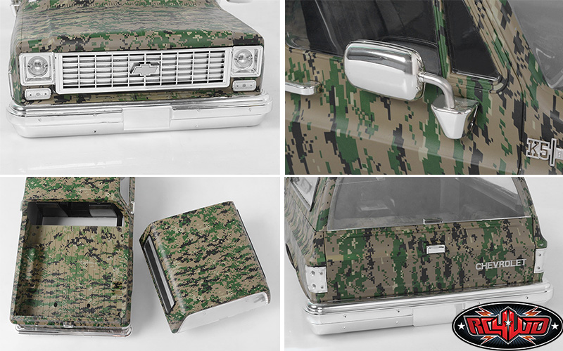 RC4WD Chevrolet Blazer Hard Body Set (Digital Camo) (3)