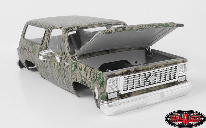 RC4WD Chevrolet Blazer Hard Body Set (Digital Camo) (4)