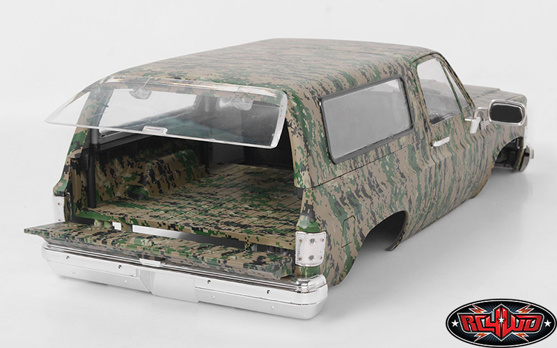 RC4WD Chevrolet Blazer Hard Body Set (Digital Camo) (5)