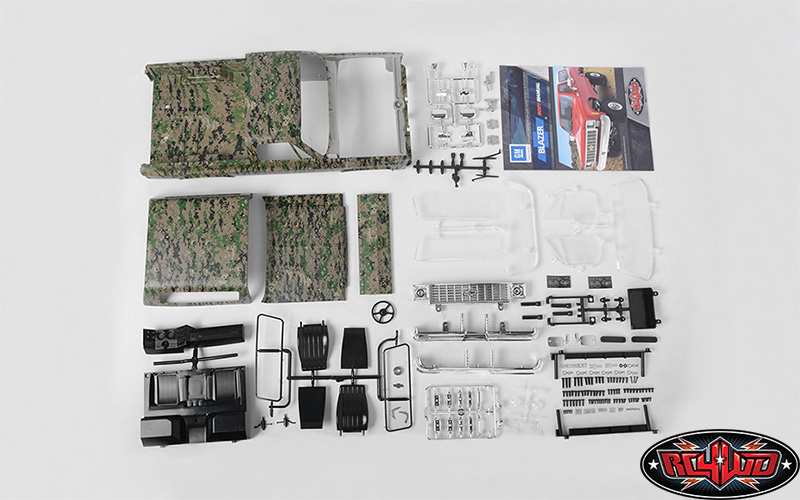 RC4WD Chevrolet Blazer Hard Body Set (Digital Camo) (6)
