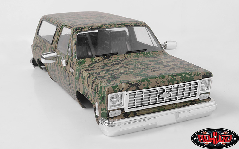 RC4WD Chevrolet Blazer Hard Body Set (Digital Camo) (7)