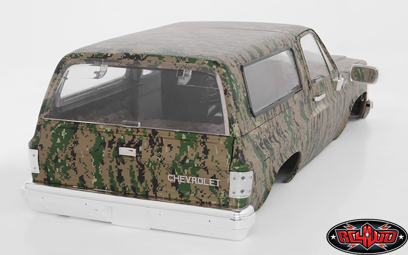 RC4WD Chevrolet Blazer Hard Body Set (Digital Camo) (8)