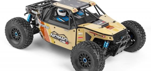 Team Associated Limited Edition Nomad DB8 LiPo Combo
