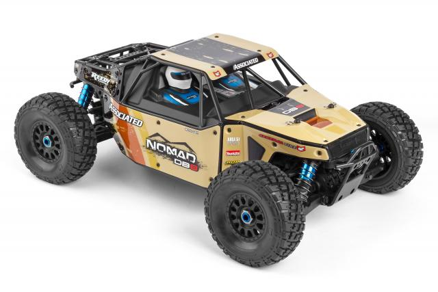 Team Associated Limited Edition Nomad DB8 LiPo Combo (1)