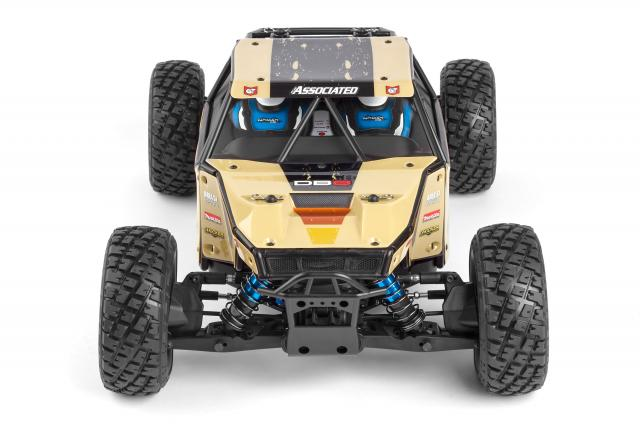 Team Associated Limited Edition Nomad DB8 LiPo Combo (5)