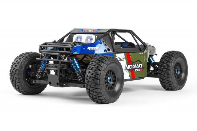 Team Associated Limited Edition Nomad DB8 LiPo Combo (6)