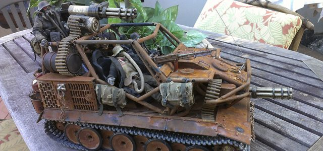 Axial Wraith Tank — Rough N' Rusty Assault Vehicle [READER'S RIDE]