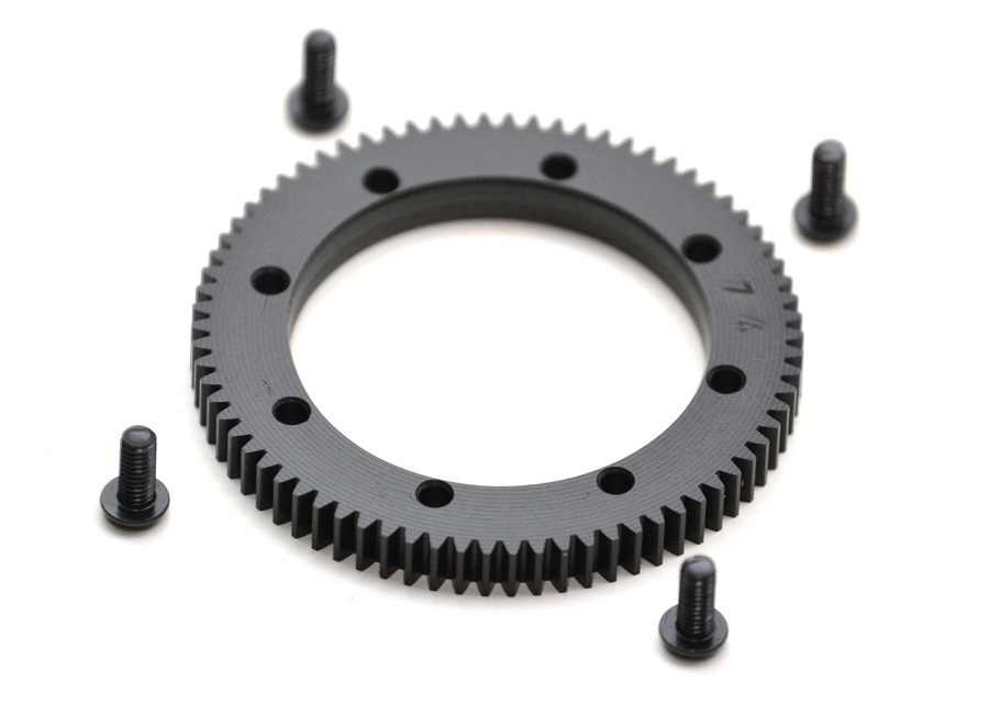 ExoTek 74t 48p Center Diff Spur Gear For the XRAY XB4 (2)