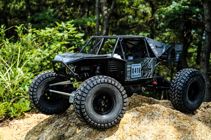 Gmade 1_10 GR01 Chassis Rock Buggy GOM 4WD Kit (2)