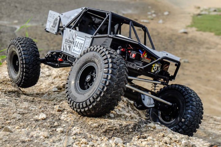 Gmade 1_10 GR01 Chassis Rock Buggy GOM 4WD Kit (4)