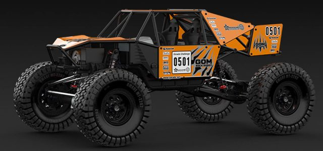 Gmade 1/10 GR01 Chassis Rock Buggy GOM 4WD Kit [VIDEO]