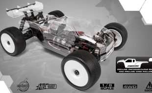 HB Racing E817T Electric Truggy