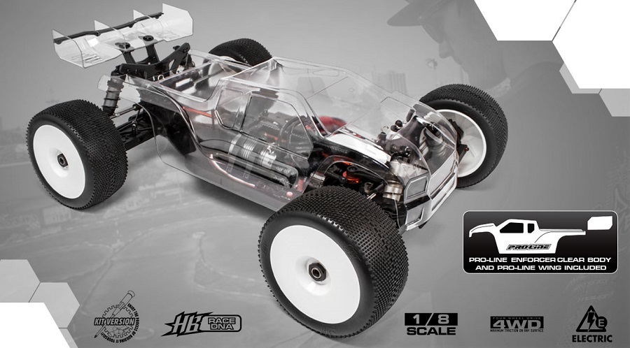 HB Racing E817T Electric Truggy (1)
