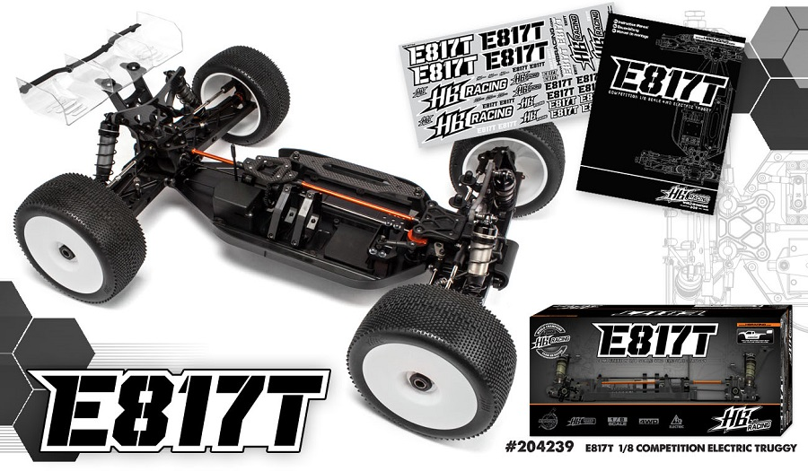 HB Racing E817T Electric Truggy (5)