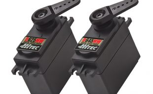 Hitec Releases Two New D-Series Premium Servos