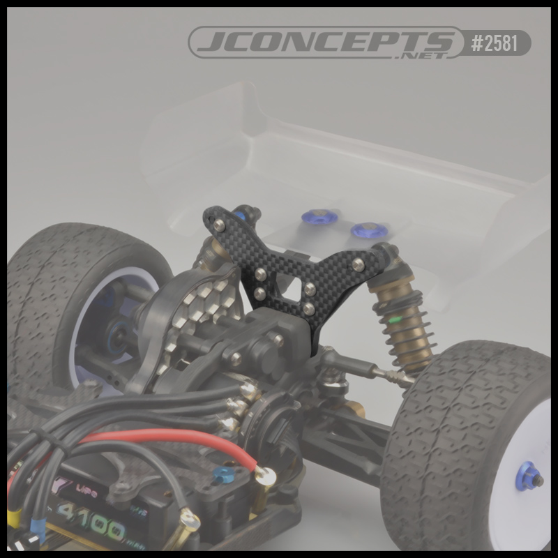 JConcepts B6 & B6D Rear Tower For Long Shock Setups (2)