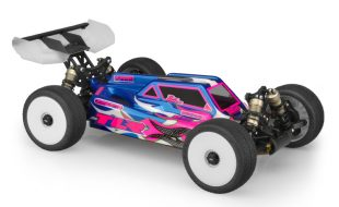 JConcepts S2 Clear Body For The TLR 8ight-E 4.0