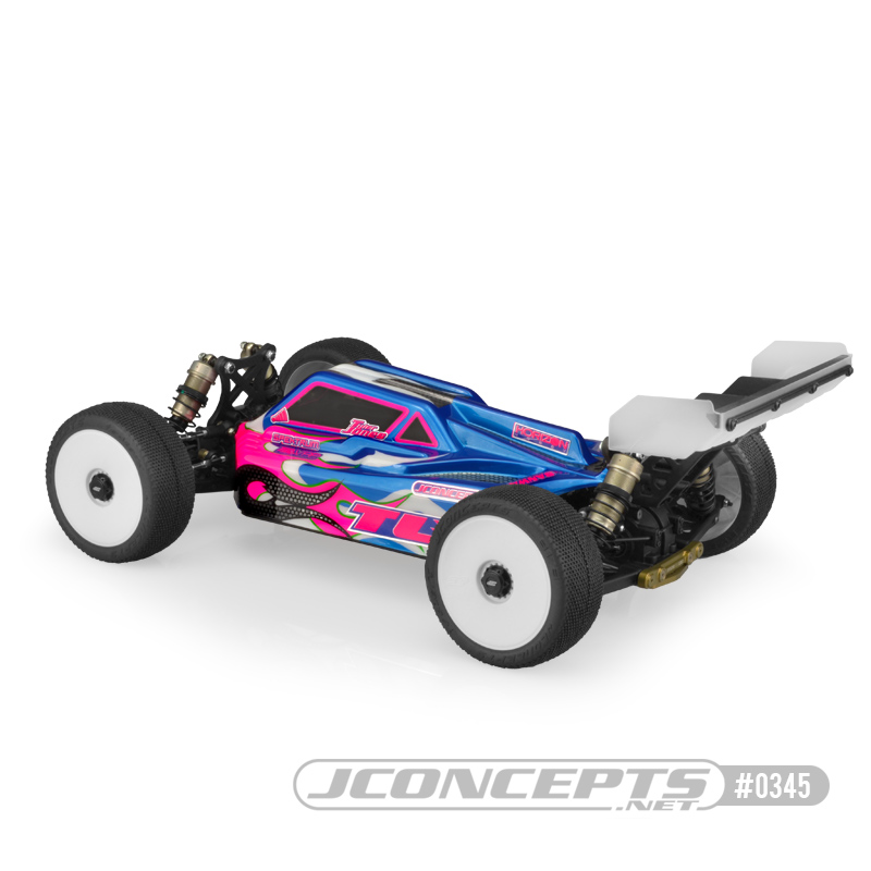 JConcepts S2 Clear Body For The TLR 8ight-E 4.0 (2)