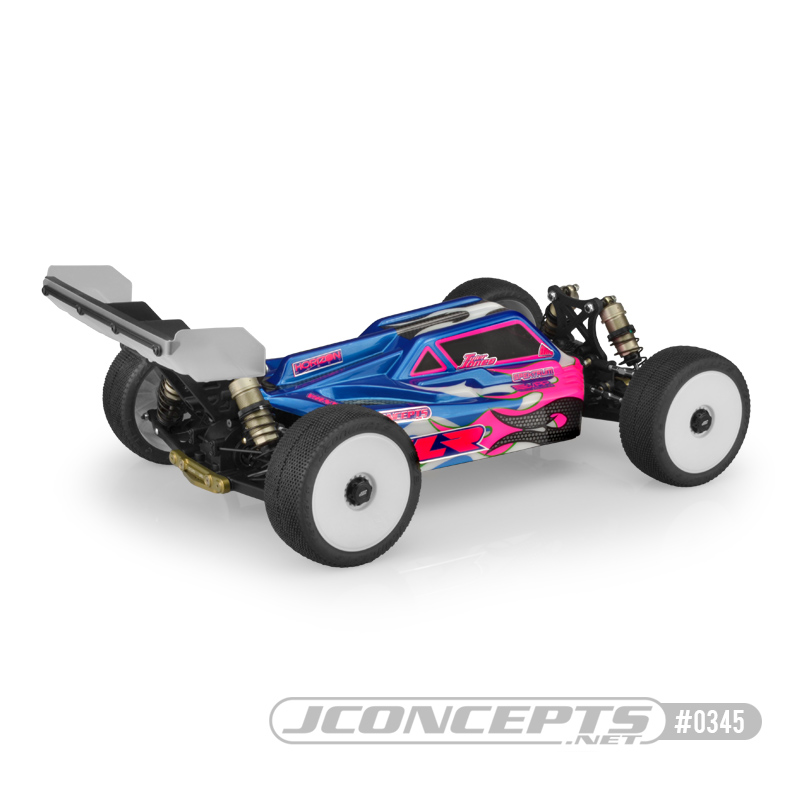 JConcepts S2 Clear Body For The TLR 8ight-E 4.0 (3)