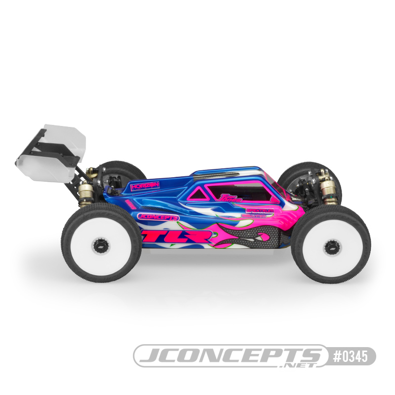 JConcepts S2 Clear Body For The TLR 8ight-E 4.0 (4)