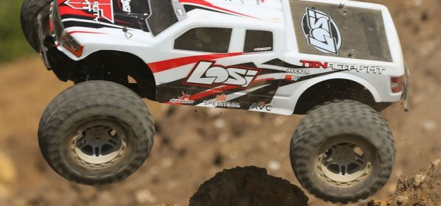 Losi RTR TENACITY 1/10 4wd Monster Truck With AVC - RC Car