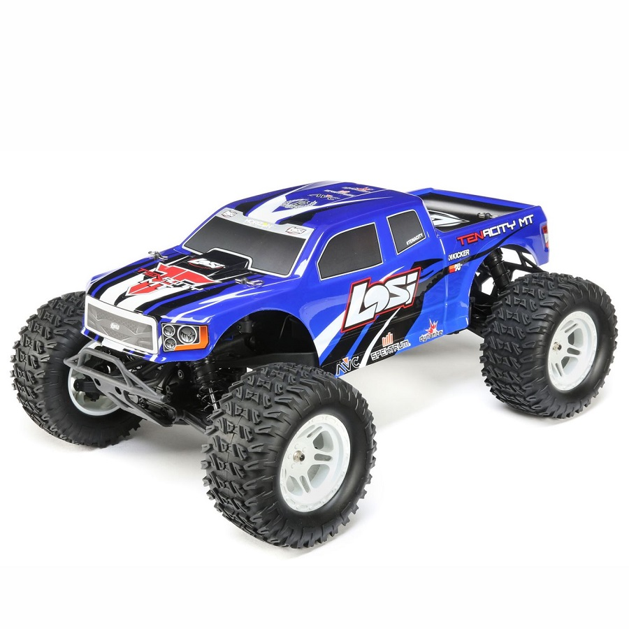 Www Rc: Losi RTR TENACITY 1/10 4wd Monster Truck With AVC
