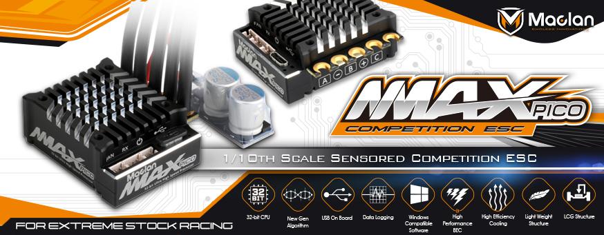 Maclan MMax Pico 100A ESC (2)