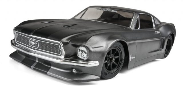 PROTOform Clear 1968 Ford Mustang Body