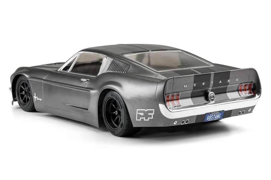 PROTOform Clear 1968 Ford Mustang Body (3)