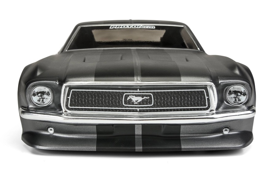 PROTOform Clear 1968 Ford Mustang Body (4)