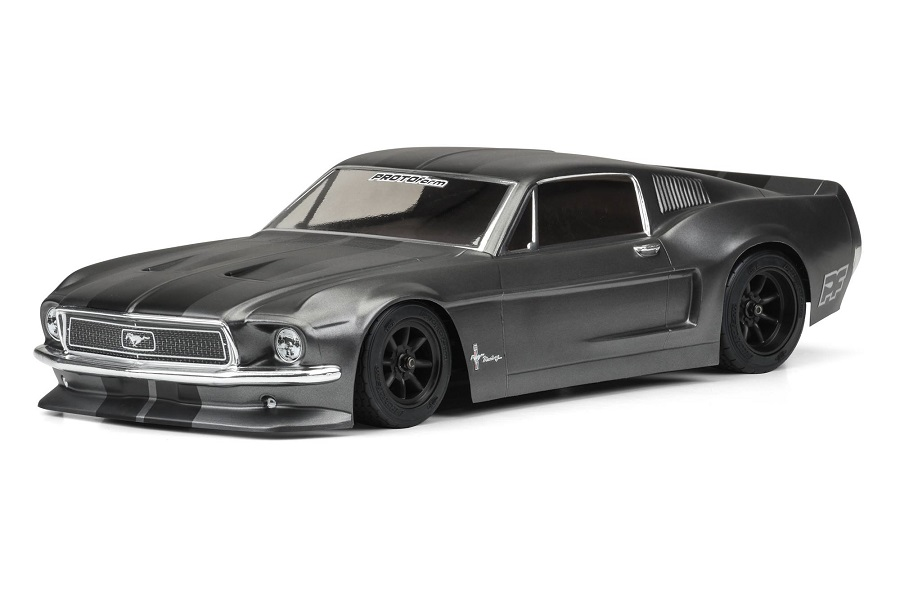PROTOform Clear 1968 Ford Mustang Body (5)