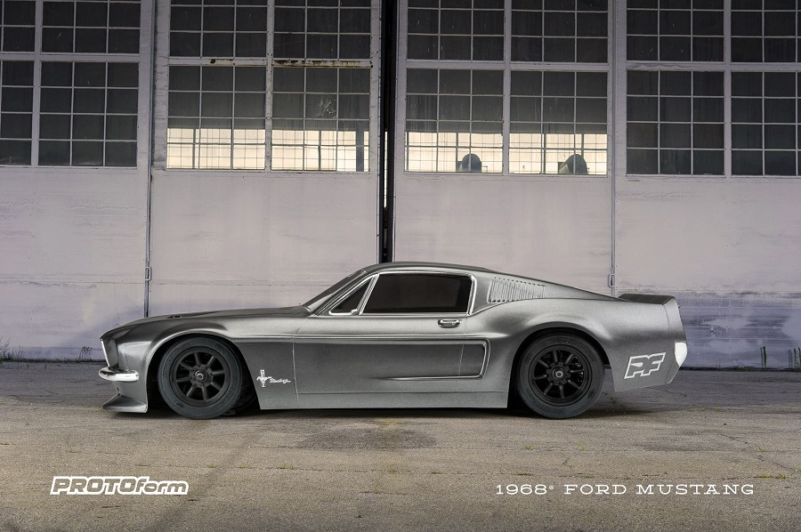 PROTOform Clear 1968 Ford Mustang Body (7)