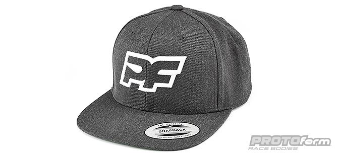 PROTOform Grayscale Snapback Hat (1)