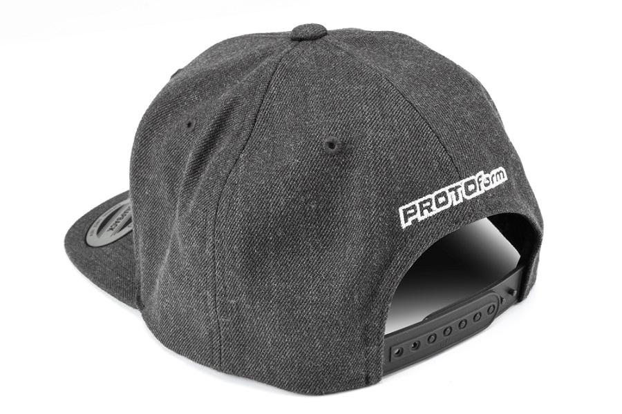 PROTOform Grayscale Snapback Hat (3)