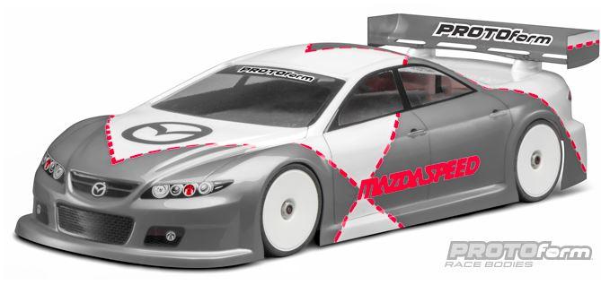 PROTOform Mazdaspeed6 PRO-Lite Clear Body (1)