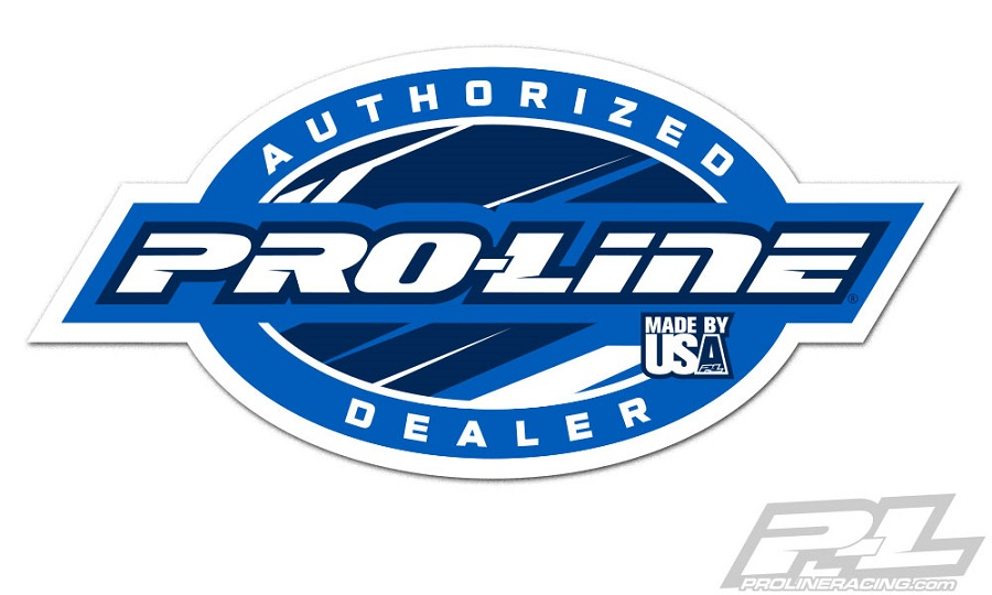 Pro-Line Authorized Dealer Decal (2)