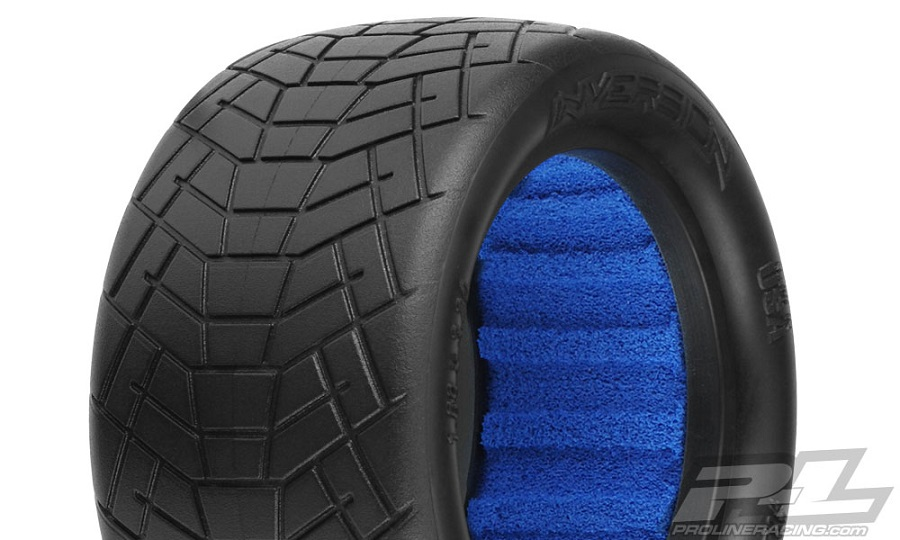 Pro-Line Inversion 2.2 Off-Road Indoor Buggy Rear Tires (1)