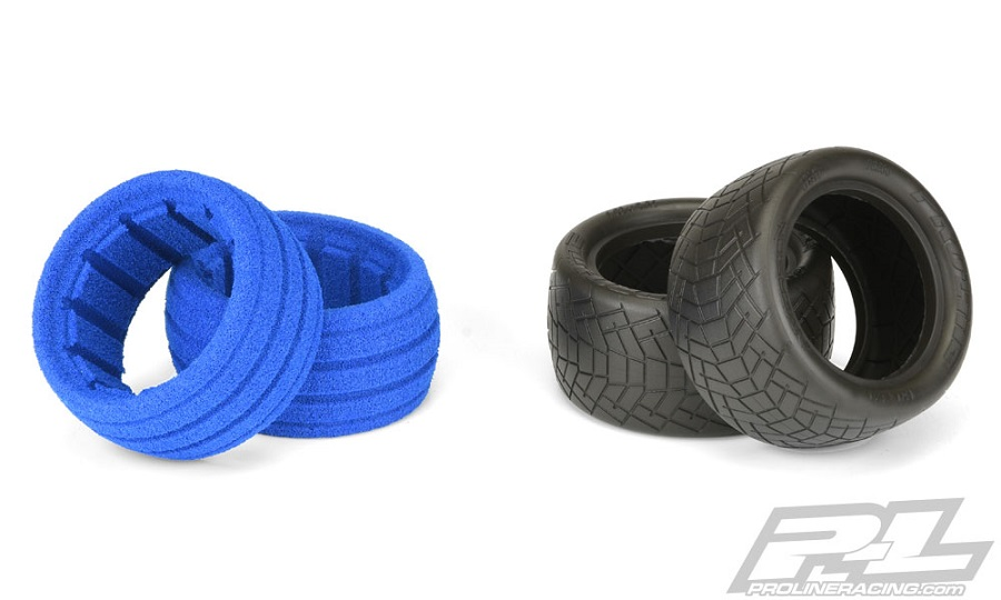 Pro-Line Inversion 2.2 Off-Road Indoor Buggy Rear Tires (3)