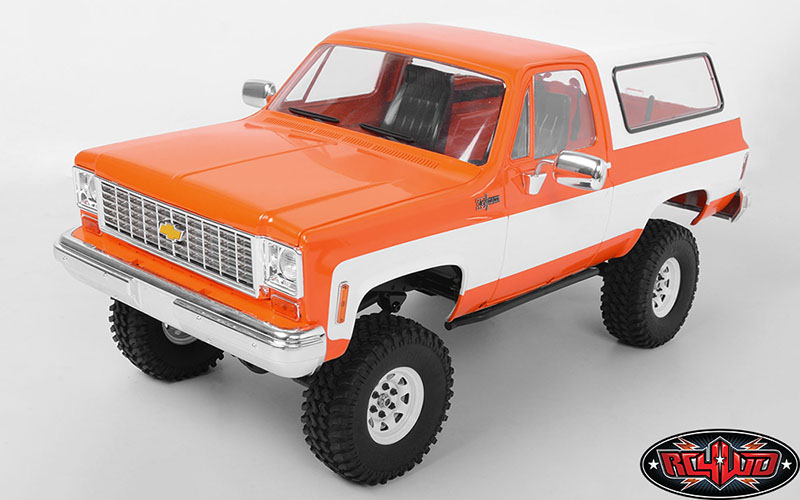 RC4WD Chevrolet Blazer Colored Hard Body Sets (1)